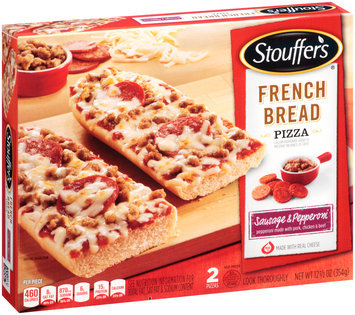 STOUFFER'S Sausage & Pepperoni French Bread Pizza 2 ct Box