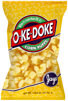 Jay's® O-Ke-Doke® Corn Puffs 1.875 oz. Bag