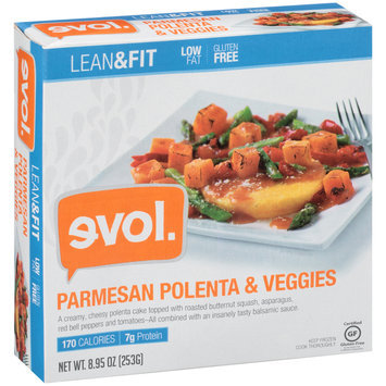 Evol. Lean & Fit Parmesan Polenta & Veggies 8.95 oz. Box
