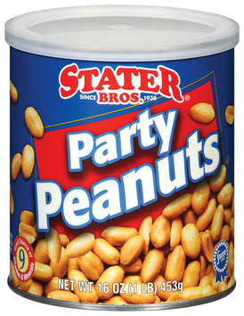 Stater Bros. Party Peanuts 16 Oz Can