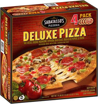 Sabatasso's® Pizzeria Deluxe Pizza 4 ct Box