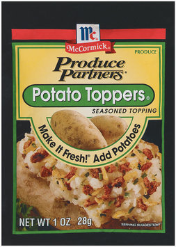 Produce Partners Seasoned Topping Potato Toppers 1 Oz Peg