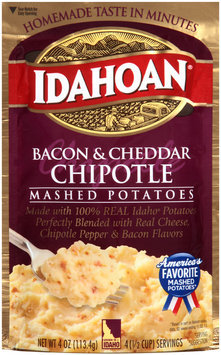 Idahoan® Bacon & Cheddar Chipotle Mashed Potatoes 4 oz. Pouch