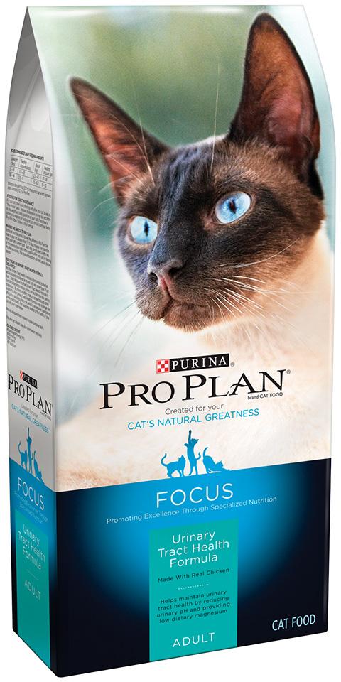 Purina Pro Plan Focus Adult Urinary Tract Health Formula Cat Food 3.5 lb. Bag