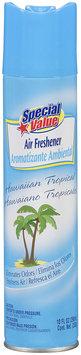 Special Value® Hawaiian Tropical Air Freshener 10 fl oz. Aerosol Can