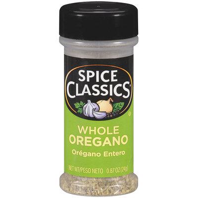 Spice Classics® Whole Oregano 0.87 oz. Shaker