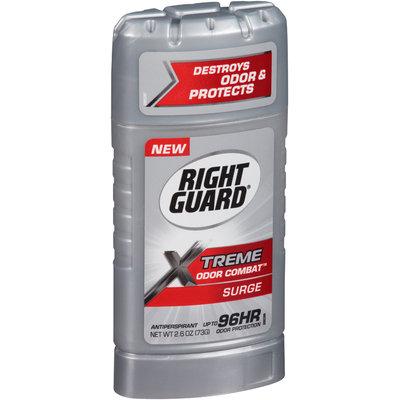 Right Guard® Xtreme Odor Combat™ Surge Antiperspirant & Deodorant 2.6 oz. Stick