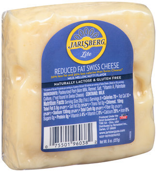 Jarlsberg® Lite Reduced Fat Swiss Cheese 8 oz. Pack
