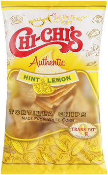 Chi-Chi's® Hint of Lemon White Corn Tortilla Chips 11 oz. Bag