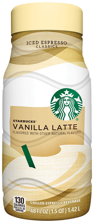 Starbucks Iced Espresso Classics Vanilla Latte