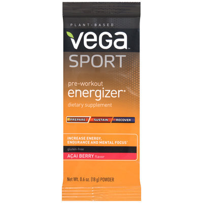 Vega™ Sport Acai Berry Powder Dietary Supplement 0.6 oz. Pack