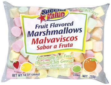 Special Value Fruit Flavored Marshmallows 10 Oz Bag