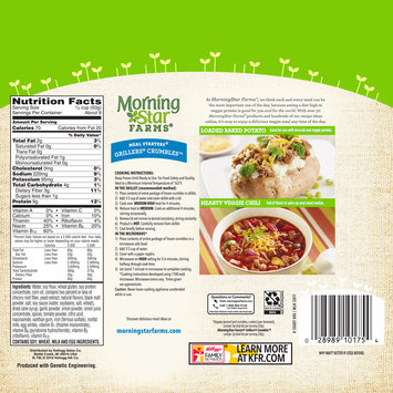 MorningStar Farms® Meal Starters® Grillers® Crumbles™ Veggie Crumbles