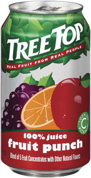 Tree Top Fruit Punch 100% Juice 11.5 Fl Oz Can