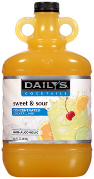 Daily's® Cocktails Non-Alcoholic Sweet & Sour Concentrated Cocktail Mix 64 fl. oz. Jug