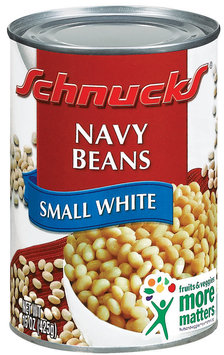 Schnucks Navy Small White Beans 15 Oz Can