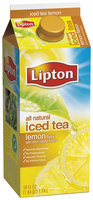 Lipton® 100% Natural Iced Tea with Lemon 59 fl. oz. Carton