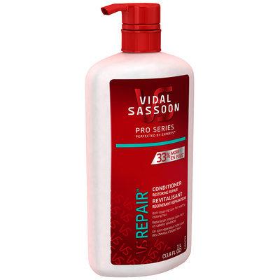 Vidal Sassoon Pro Series Restoring Repair Conditioner 33.8 fl. oz. Bottle