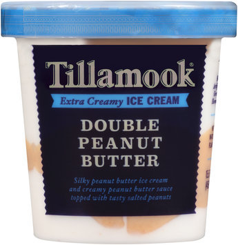 Tillamook® Double Peanut Butter Extra Creamy Ice Cream 15.5 fl. oz. Tub