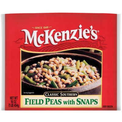 Mckenzie's Classic Southern W/Snaps Field Peas 16 Oz Bag