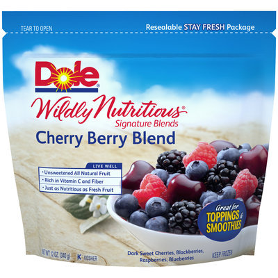 Dole Wildly Nutritious Signature Cherry Berry Blends
