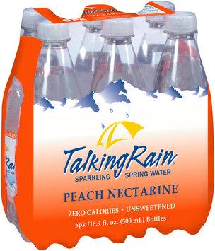 Talking Rain® Peach Nectarine Sparkling Spring Water