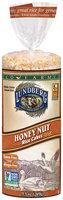Lundberg® Eco-Farmed Honey Nut Rice Cakes 9.5 oz. Bag