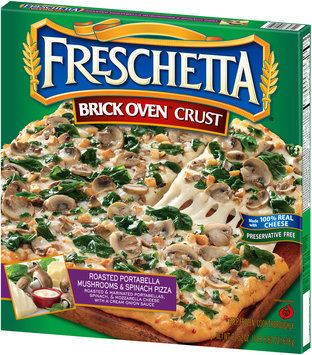 Freschetta® Brick Oven™ Roasted Portabella Mushrooms & Spinach Pizza