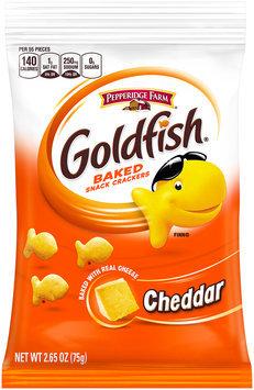 Pepperidge Farm® Goldfish® Cheddar Baked Snack Crackers 2.65 oz. Package