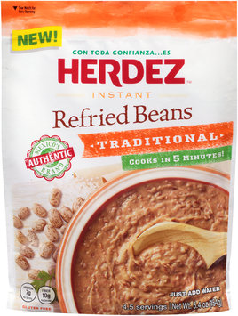 Herdez™ Instant Traditional Refried Beans 5.4 oz. Pouch