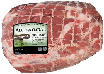 Smithfield® All Natural Boneless Pork Shoulder Roast