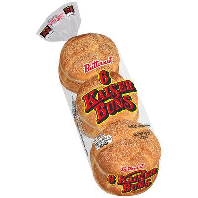 Butternut® Kaiser Buns 15 oz. Pack