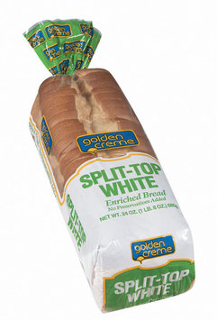 Golden Creme Split-Top White Bread 24 Oz Bag