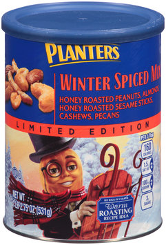 Planters Winter Spiced Mix 18.75 oz. Canister