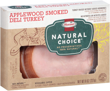 Hormel® Natural Choice® Applewood Smoked Deli Turkey