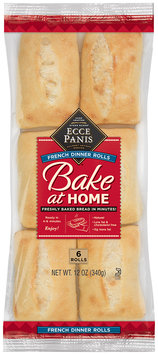 Ecce Panis® Bake at Home French Dinner Rolls 6 ct. Bag
