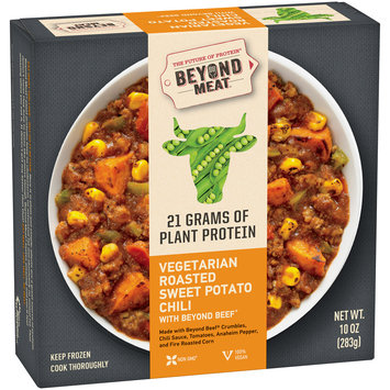 Beyond Meat® Vegetarian Roasted Sweet Potato Chili with Beyond Beef® 10 oz. Box