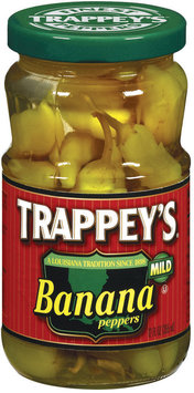 Trappey's Banana Mild Peppers 12 Oz Jar