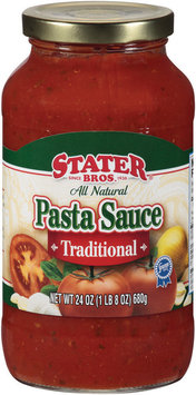 Stater Bros.® Traditional Pasta Sauce 24 oz