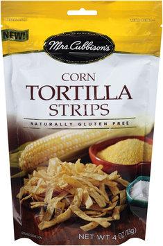Mrs. Cubbison's® Corn Tortilla Strips 4 oz. Pouch