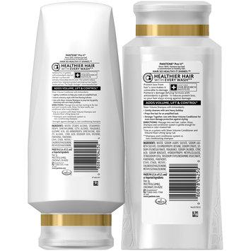 Flat to Volume Pantene Pro-V Sheer Volume Shampoo and Conditioner Set (25 fl oz and 24 fl oz), Silicone-free Volumizing Shampoo and Lightweight Volumizing Conditioner