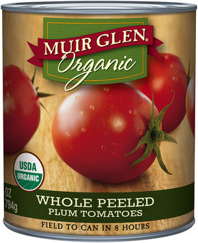 Muir Glen® Organic Whole Peeled Plum Tomatoes 28 oz. Can