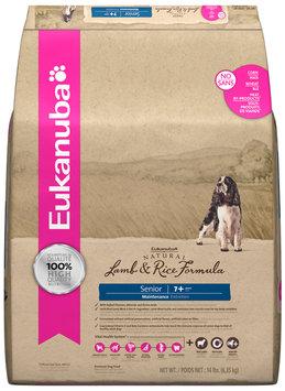 Eukanuba Senior Natural Lamb & Rice Dog Food 14 lb. Bag