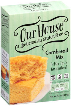 Our House™ Cornbread Mix 20 oz. Box