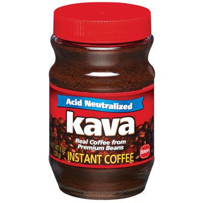 Kava Acid Neutralized Instant Coffee 8 Oz Jar