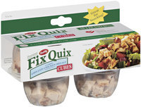 Fix Quix Cured Grilled Cubes 1.5 Oz Cups Chicken Breast 4 Ct Peg