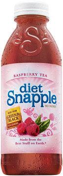 Snapple Raspberry Diet Iced Tea 20 Oz Plastic Bottle