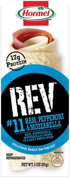 Hormel™ Rev® #11 Ham, Pepperoni & Mozzarella 3 oz. Tray