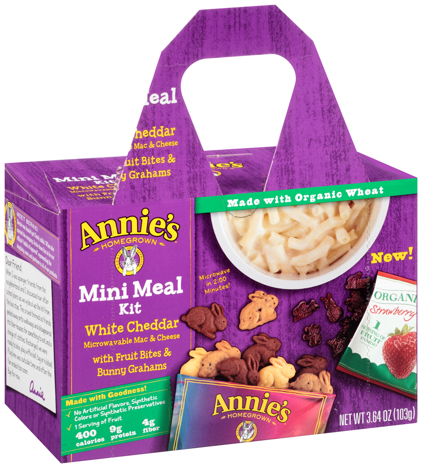 Annie's® Homegrown White Cheddar Mac & Cheese Mini Meal Kit