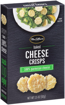 Mrs. Cubbison's® Baked Cheese Crisps 1.5 oz. Box